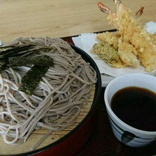 特製天ざるそば(満月食堂 )