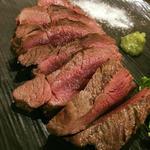 ダチョウ・モモ肉のグリル 100g(肉Bar Tsunekichi)