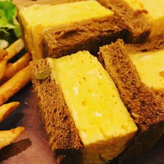 厚焼き玉子サンドプレート(NORTH LOUNGE 北欧館 (ノース ラウンジ ホクオウカン))