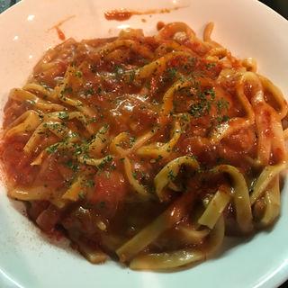 生パスタのトマトカレーチーズまぜ麺(明ごころ本店 洋食店 )