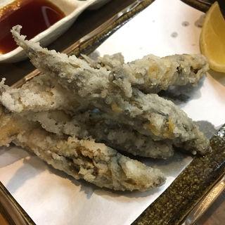 メヒカリの唐揚げ(三陸宮古市場WA (サンリクミヤコイチバワ))
