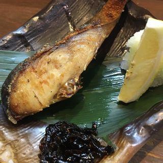 新巻鮭の塩焼き(三陸宮古市場WA (サンリクミヤコイチバワ))