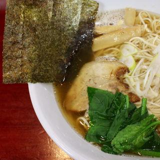 魚介醤油(朱蓮)
