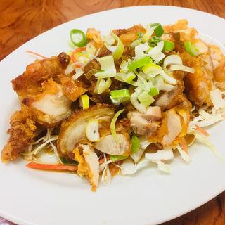 油淋鶏(土鍋・大餃子 )