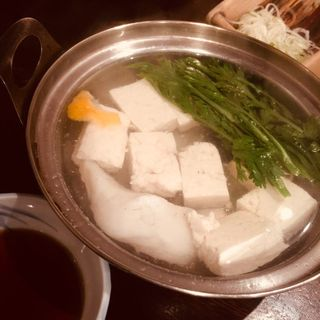 湯豆腐(鍵屋 (かぎや))