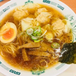 わんたんめん(日高屋 鶯谷店 )