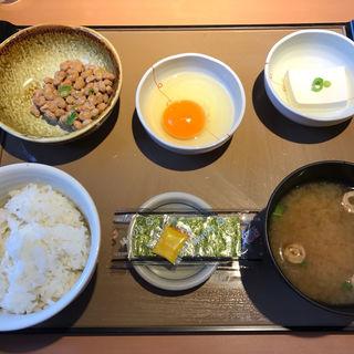 納豆朝食(やよい軒 高砂店)