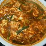 トマトの辛麺(辛麺屋 桝元 赤江店)