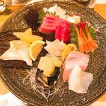 刺身盛り合わせ2人前(Sushi TOCHINO-KI (スシ トチノキ))