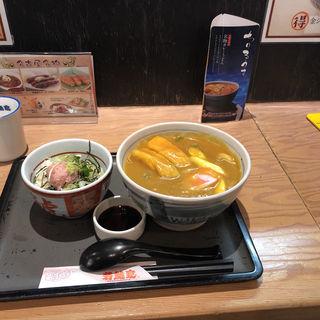 カレーセットA(若鯱家 エスカ店 (わかしゃちや))