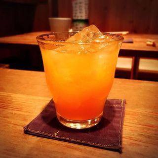 にごり梅酒(ロック)(とり方 (とりほう))