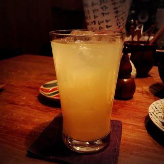 にごり梅酒(ソーダ割)(とり方 (とりほう))