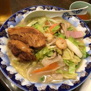角煮ちゃんぽん(蘇州林)