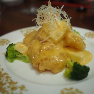 海老のマンゴマヨネーズ炒め(A・DINING (エーダイニング))