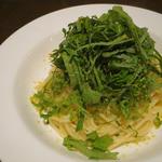 カラスミと大葉のスパゲティ