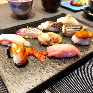 寿司(錦鮨しん 先斗町)