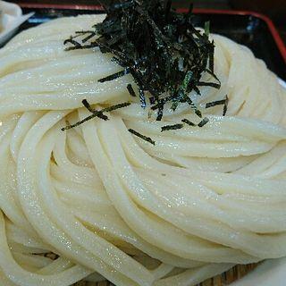 ざるうどん 鶏天セット(Ah-麺)