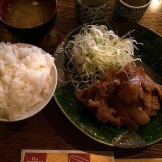 コレナイ豚の生姜焼きセット(amber (アンバー))