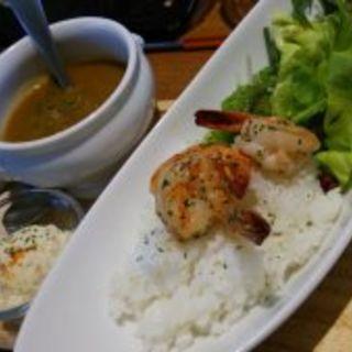 エビカレー(Anniversary Cafe)