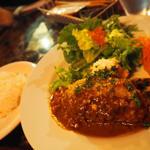 牛挽き肉のハンバーグステーキ