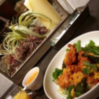 から揚げの甘辛ソース丼(AW55 (エーダブリュゴーゴー))