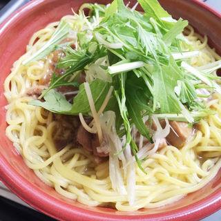 三崎まぐろラーメン(B-1グランプリ食堂 AKI-OKA CARAVANE )