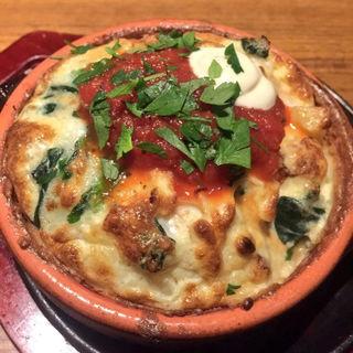 平飼い卵の季節野菜オムレツ(BARU&DINING GOHAN 新宿三丁目店 (バルアンドダイニング ゴハン))
