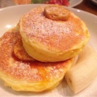 リコッタチーズパンケーキ(bills 七里ケ浜)