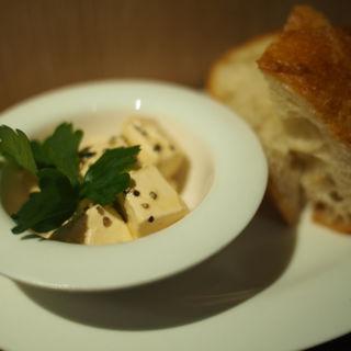 クリームチーズの牡蠣醤油マリネ(BISTROあっけし 新橋店 )