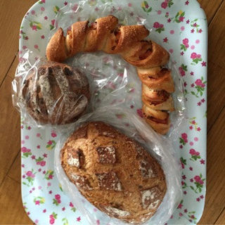 ベーコンのパン(Boulangerie 6)