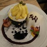 ハロウィーンホラーナイトスペシャルパンケーキ