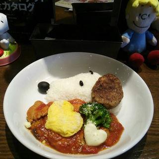 チキンのトマト煮込み(Cafe Blanket (カフェブランケット))