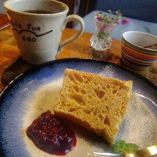 ケーキセット(cafe fua (カフェ フア))