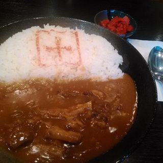 オリジナル牛すじカレー(Cafe PLUS)