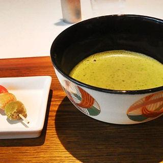 抹茶(Cafe 椿 山種美術館内)