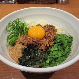 台湾まぜそば(チャイナビストロ one soup)