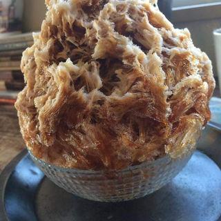 カキ氷 コーヒー味(cocoo cafe (コクウカフェ))