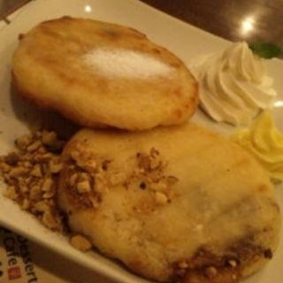 もちもちホットクパンケーキ プレーン(Dessert cafe 雪のはな 東京原宿店)