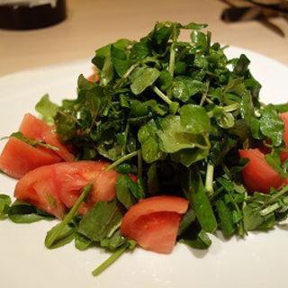 クレソンとトマトのサラダ(DouBLe's (ダブルズ))
