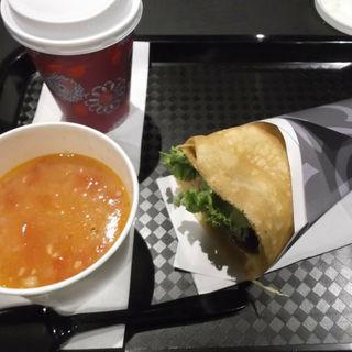 スープ&ドリンクセット(DRAGON CREPE CAFE)