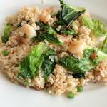 海老とレタスの炒飯