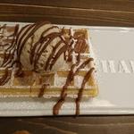 クッキーアイス・ミルクチョコトッピング