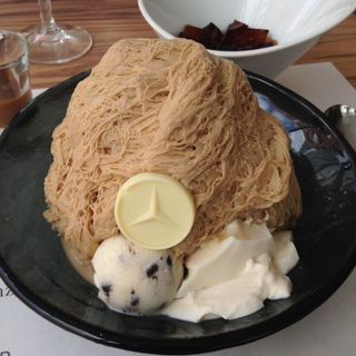 コーヒーかき氷(ICE MONSTER OMOTESANDO (アイスモンスター))