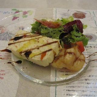 せいこ蟹のムースと北海道産ホタテのサラダ(iL bosco(イル・ボスコ))
