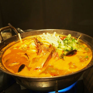 海鮮純豆腐チゲ(KollaBo 六本木店 (コラボ))