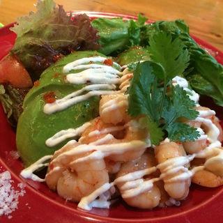 アボカドとエビのマリネ丼(Mexican Dining AVOCADO)