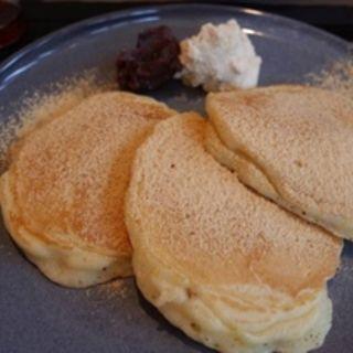 きなことくるみのパンケーキ(Micasadeco&Cafe )