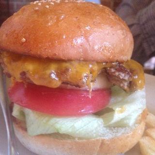 チーズバーガー(Moose Hills Burger)