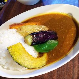 季節野菜のファーマーズカレー(NAYA cafe)
