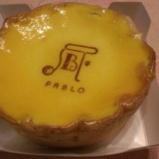 チーズタルト(焼きたてチーズタルト専門店PABLO 心斎橋店 (パブロ))